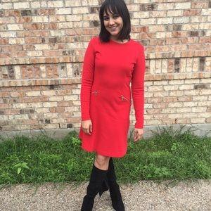 Red Michael Kors dress
